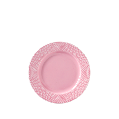 rhombe-lunch-plate-oe21-cm-rose-porcelain-rhombe