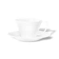 Grand Cru Tea cup with matching saucer White, 28 cl