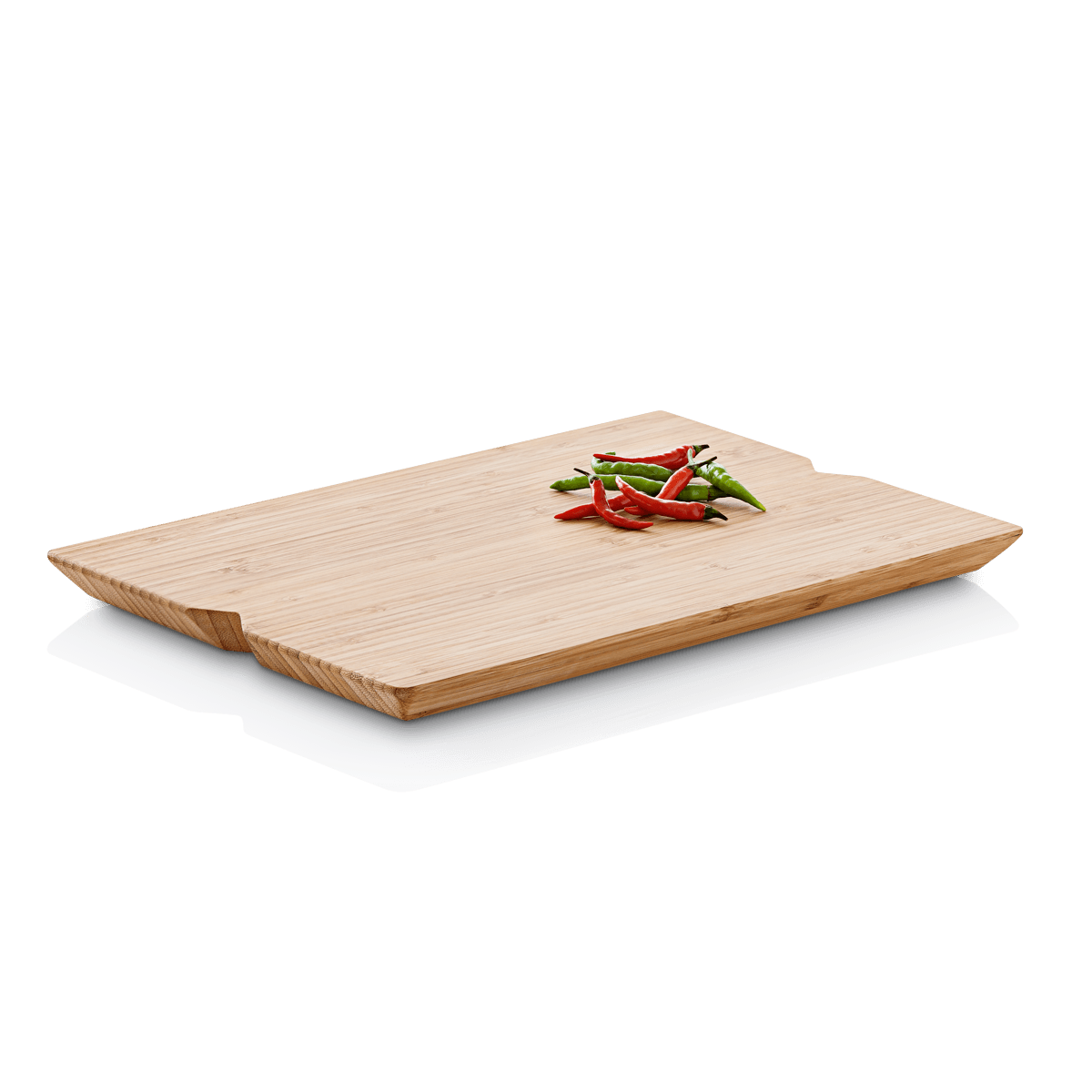 These boards are a thicker material and not bendable. Just the right size for quick slicing. I no longer have to drag out a big cutting board for a small object (like one tomato, one lemon, etc) then have to wrestle a larger board to hand wash or try to fit in the dishwasher.