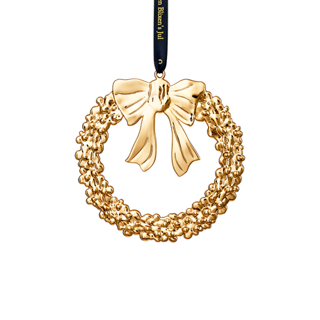 christmas-wreath-12-cm-gold-plated-karen-blixen-
