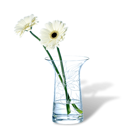 Clear glass flower vases - Grand vase transparent ...