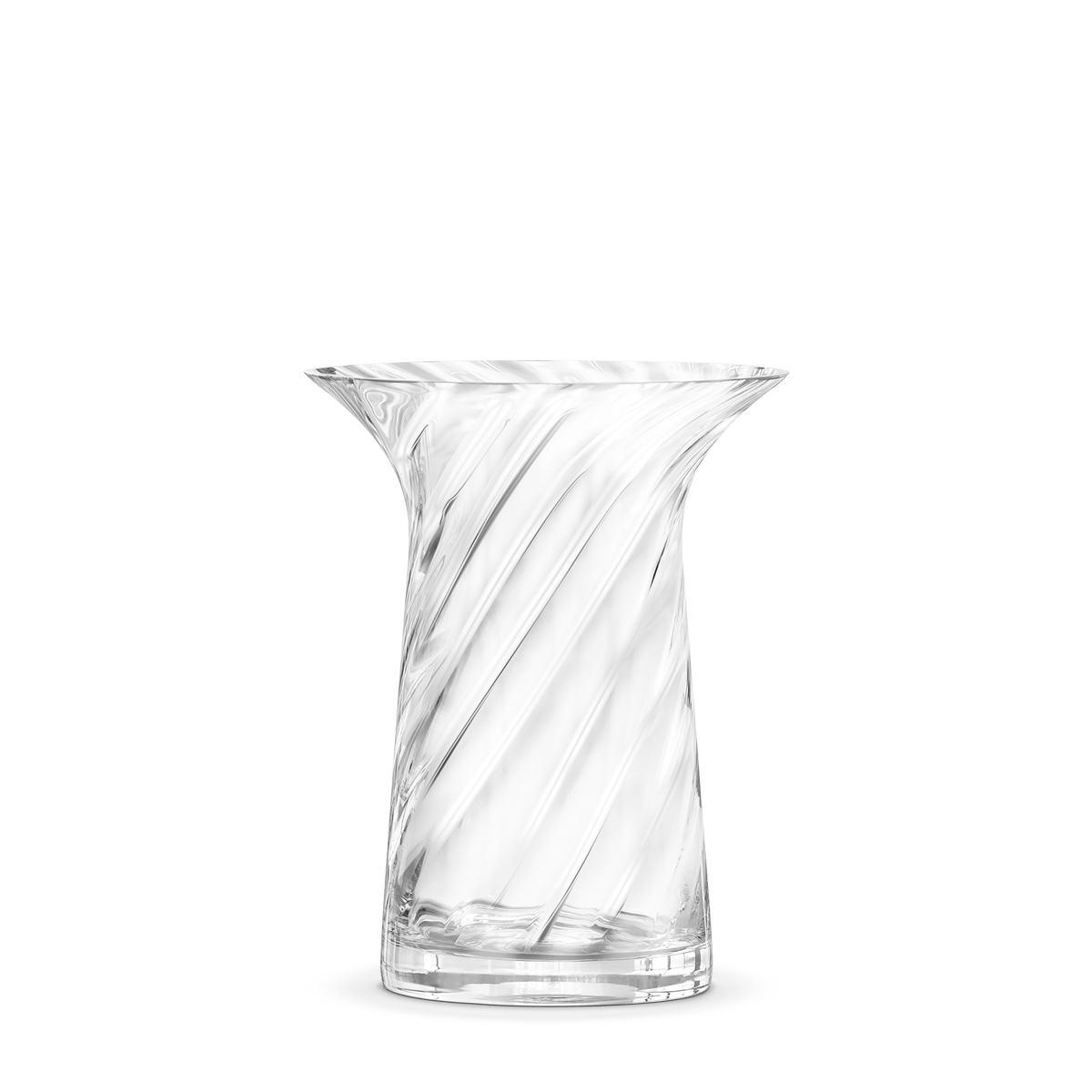 Lin utzon filigree vase optik 16 cm - Grand vase transparent ...