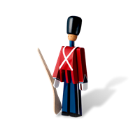 Kay Bojesen Guardsman with gun Painted beech, 22,5 cm