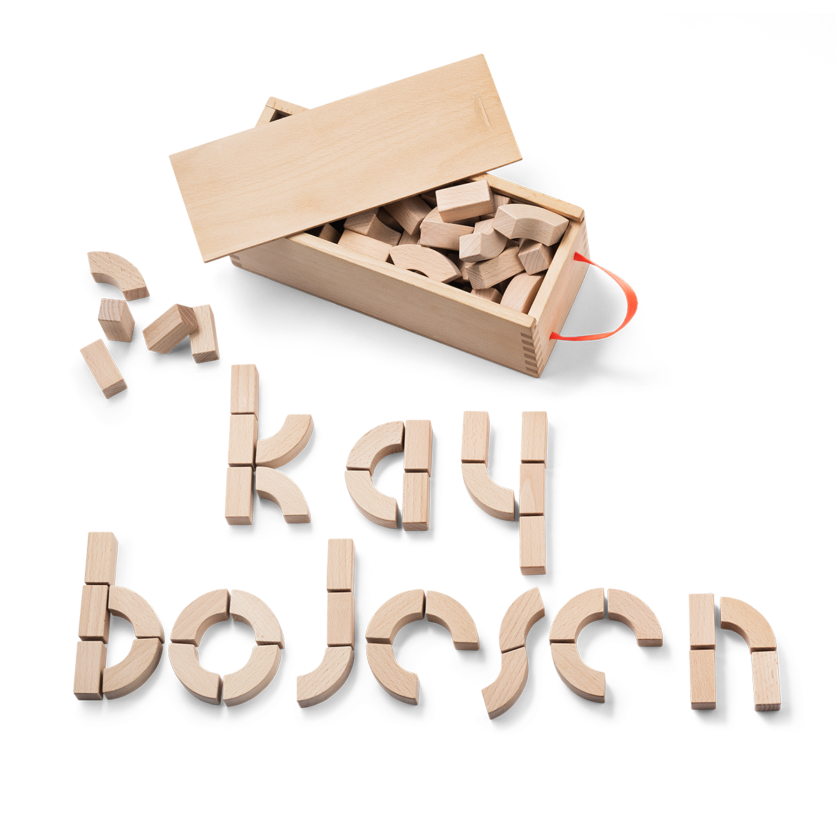 alphabet blocks by kay bojesen great gift idea buy online. Black Bedroom Furniture Sets. Home Design Ideas