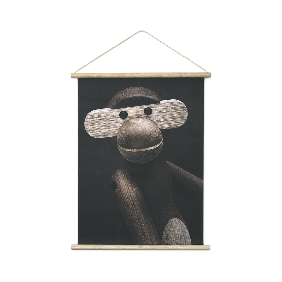 monkey picture portrait kay bojesen s monkey 40 x 56 photo of a danish art icon. Black Bedroom Furniture Sets. Home Design Ideas