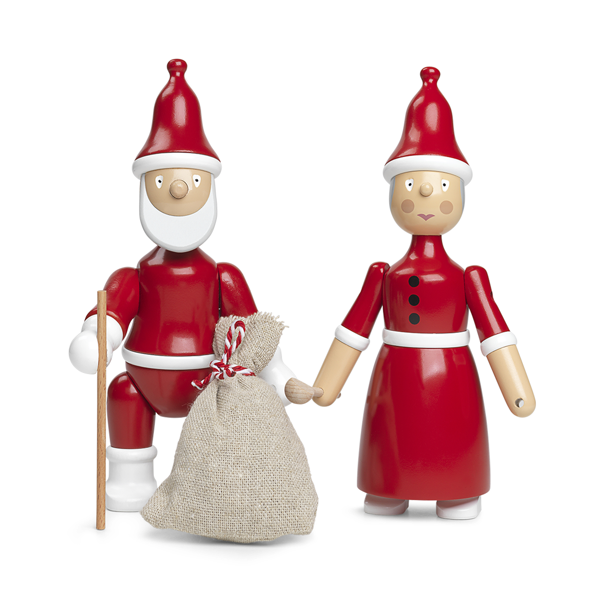 mrs claus kay bojesen exclusive christmas decorations by a danish artist. Black Bedroom Furniture Sets. Home Design Ideas