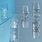 stub-glass-blue-tube-clear-21-cl-4-pcs-
