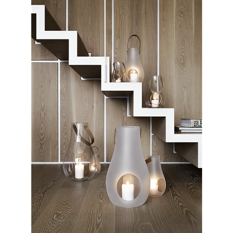 Design with Light Lanterne Frostet, 29,3 cm