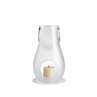 Design with Light Lantern Frosted, 24,8 cm