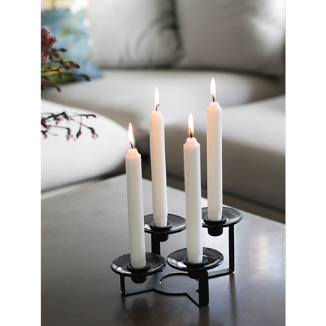 lumi-candle-holder-4-armed-h10-cm-black-lumi
