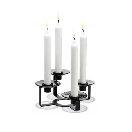 lumi-candle-holder-4-armed-h10-5-cm-black-lumi