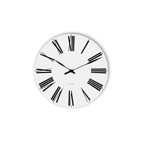 roman-wall-clock-oe21-cm-white-black-arne-jacobsen-roman