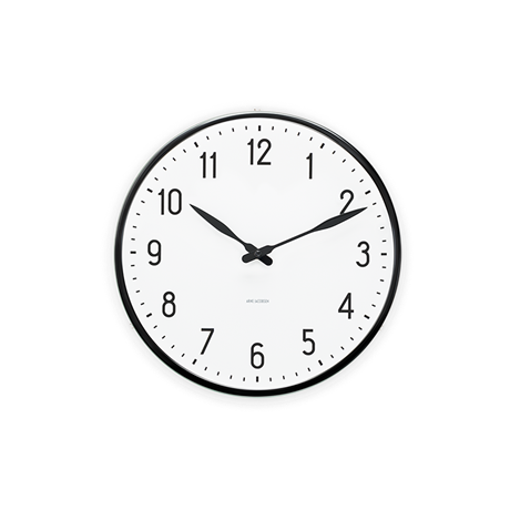 station-wall-clock-oe29-black-white-station