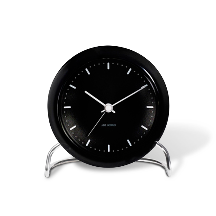 arne jacobsen table city hall table clock with alarm. Black Bedroom Furniture Sets. Home Design Ideas