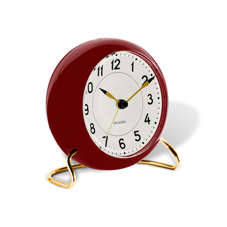 station-table-clock-oe11-cm-bordeaux-white-station