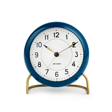 station-table-clock-navyblue-white-oe-11-cm-alarm-arne-jacobsen---table