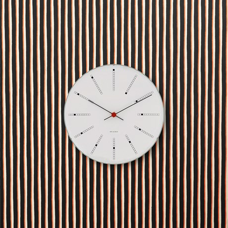 bankers-wall-clock-oe12-cm-white-black-red-arne-jacobsen---wall