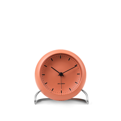 city-hall-tischuhr-oe11-cm-pale-orange-arne-jacobsen-city-hall