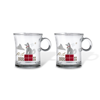 Holmegaard Hot drinks glass  2 pcs., Ø 8 cm
