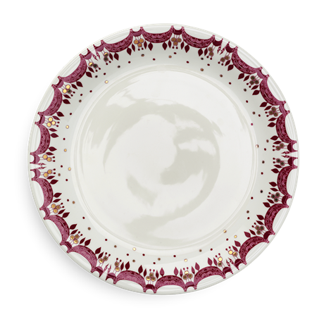guirlande-christmas-plate-red-oe28-5-christmas-dinnerware