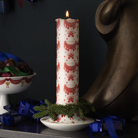 guirlande-advent-candle-red-oe5-cm-christmas-dinnerware