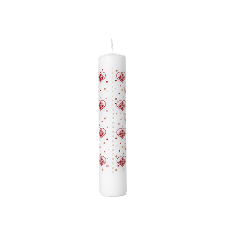 guirlande-advent-candle-red-white-oe5-cm-christmas-dinnerware