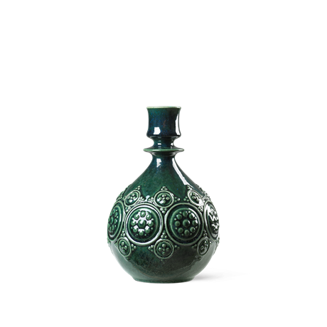 symphony-magic-candle-holder-dark-green-h18-symphony