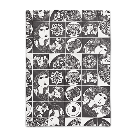 bw-tea-towel-dark-grey-50x70-cm-bjørn-wiinblad