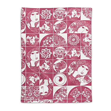 bw-tea-towel-red-50x70-cm-bjørn-wiinblad