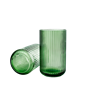 lyngbyvase-h25-copenhagen-green-mouth-blown-glass-lyngby