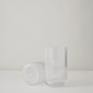 lyngbyvase-h25-clear-mouth-blown-glass-lyngby