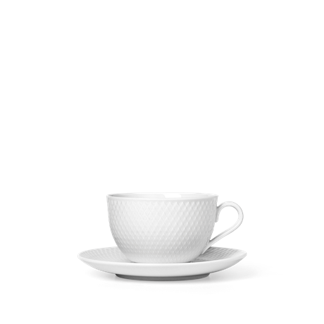rhombe-tea-cup-with-matching-saucer-39-cl-white-porcelain-rhombe