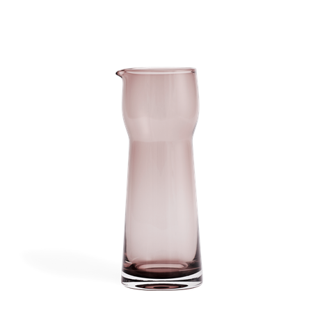 ab-c-carafe-90-cl-burgundy-mouth-blown-glass-axel-brüel