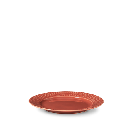 rhombe-color-lunch-plate-oe23-cm-terracotta-porcelain-