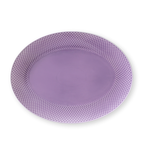 rhombe-color-oval-serving-dish-35x26-5-light-lilac-porcelain-