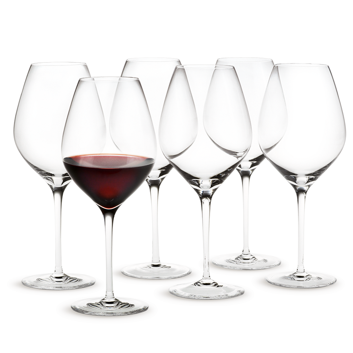 Cabernet Red Wine Glass 50 Cl Gift Box With 6 Glasses Holmegaarddk