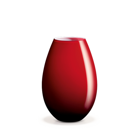 cocoon-vase-red-h-20-5-cm-cocoon