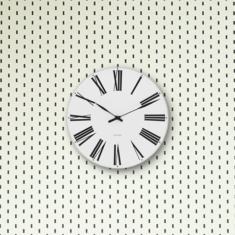 roman-wall-clock-oe16-cm-white-black-arne-jacobsen-roman