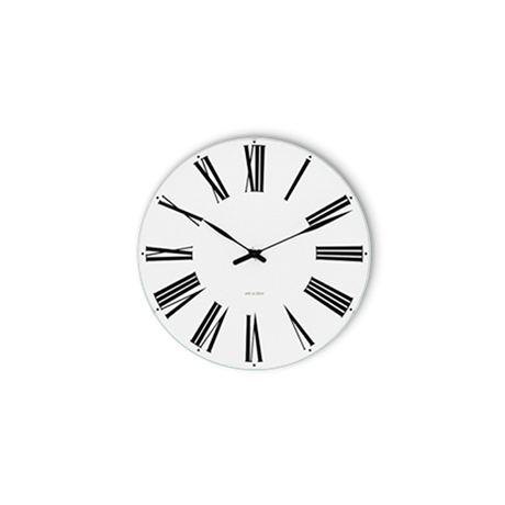 roman-wall-clock-oe16-cm-black-white-arne-jacobsen-roman