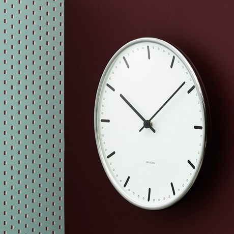 city-hall-wanduhr-oe21-cm-weiss-schwarz-arne-jacobsen-city-hall
