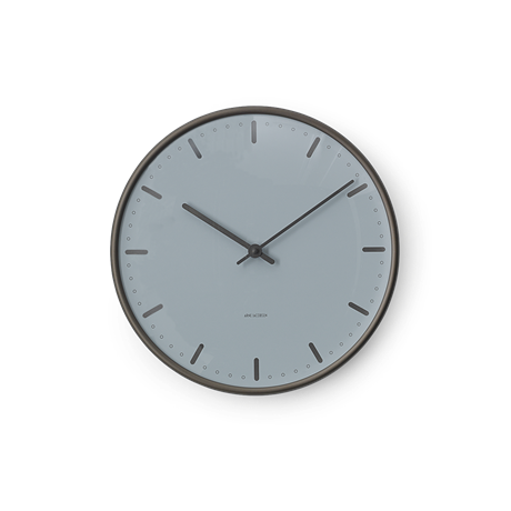 city-hall-royal-wanduhr-oe29-cm-blau-schwarz-arne-jacobsen-city-hall-royal